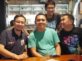 Fahmi - Gio - Bobby - Cumi