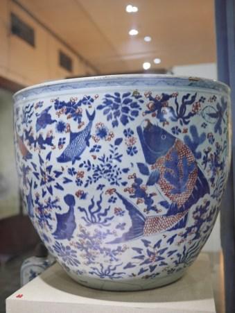 Keramik Cina motif ikan
