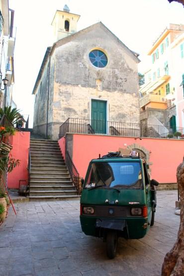 Corniglia Street, Cinque Terre, BackpacktoBeyond
