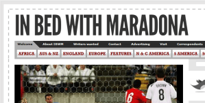 In the Blog: In Bed With Maradona