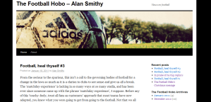 In the Blog: The Football Hobo