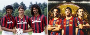 Pep's Barcelona vs Sacchi's Milan - Clash of the titans