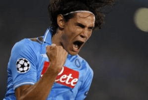Cavani: the man to lead the Chelsea line