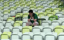 irish fan disappointed