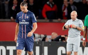 Ibrahimovic red card PSG