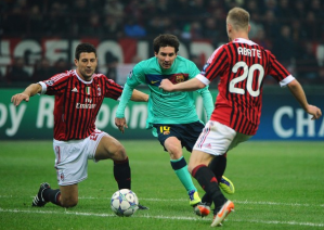 AC Milan v Barcelona - Last five meetings at the San Siro