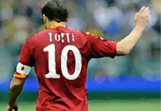 Totti Roma Italy