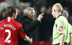 I hate Sir Alex Ferguson