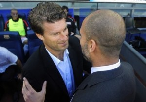 Laudrup capable of continuing Guardiola's legacy