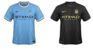 Manchester City kits