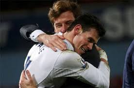 Of course if AVB was given the job at Real he would be reunited with Gareth Bale.