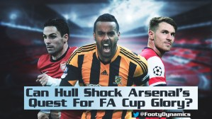Football Dynamics - Can Hull shock Arsenal?
