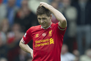Gerrard Liverpool Slip