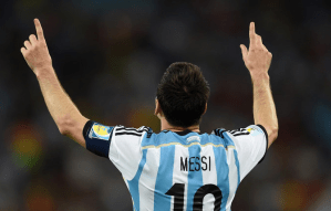 Video: Lionel Messi scores a stunning free kick against the United States
