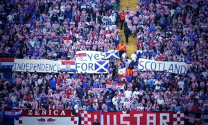 Scotland - when politics and football clash