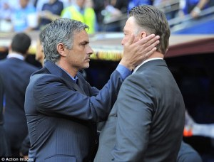 Van Gaal, Mourinho will put football before friendship for Sunday showdown