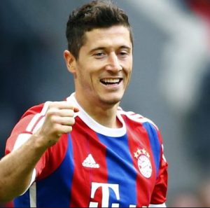 Vine: Robert Lewandowski scores five goals in nine minutes