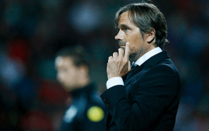 Philipp Cocu represents the great hope for diminished Dutch football