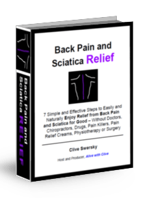 Back Pain and Sciatica Relief