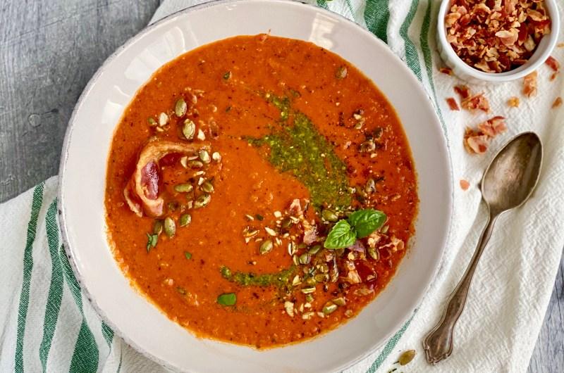 creamy Tuscan tomatosoup