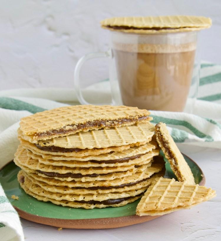 paleo stroop waffle
