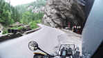 Great ride: Bicaz Gorge, Romania