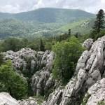 Gravel road at Velebit National Park, Croatia