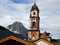 The Tower Of St. Peter And St. Paul, Mittenwald, Germany