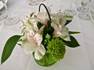 Flowers At Each Table