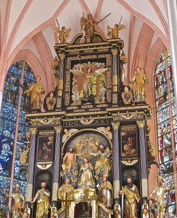 Mondsee Church, The Wedding Of Maria And Captain Von Trapp Was Held Here In The Sound Of Music