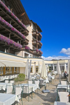 In Nice Weather Dining Is Available On The Terrace