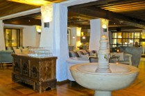 A Mix Of Contemporary and Antiques In The Lobby/Sitting Room