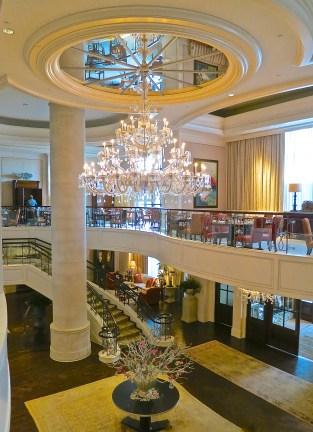 The Beautiful Lobby Of The St. Regis Atlanta