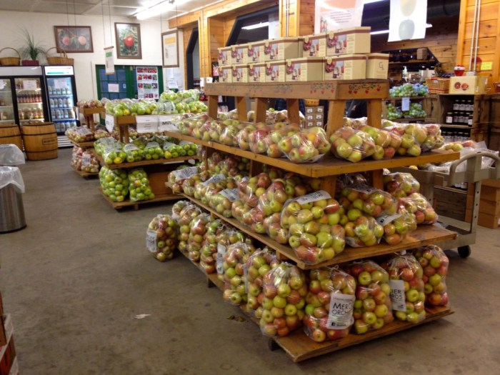 Mercier Orchards Apples