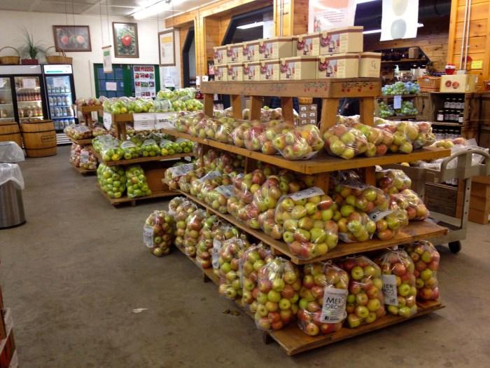 Mercier Orchards Apples