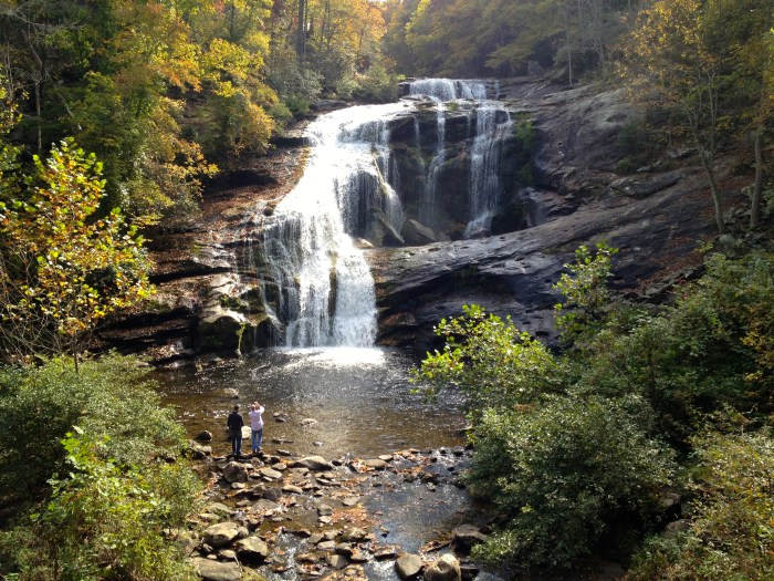 Bald River Falls Tennessee