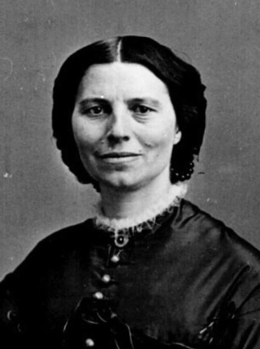 Clara Barton by Mathew Brady 1865