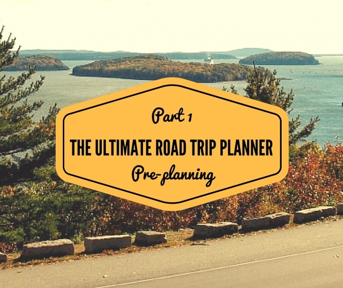 PART 1  PRE PLANNING 3 1 - Road Trip Planning Resources