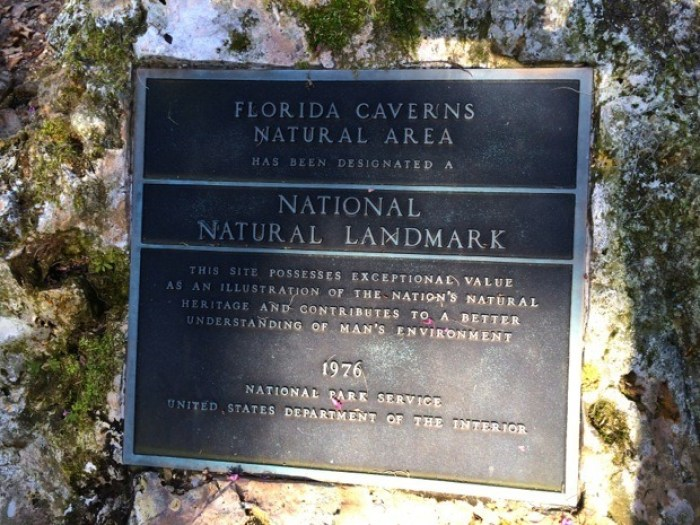 Florida Caverns National Natural Landmark