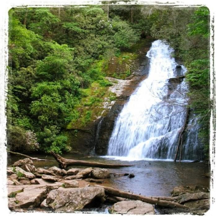 Helton Creek Falls Georgia