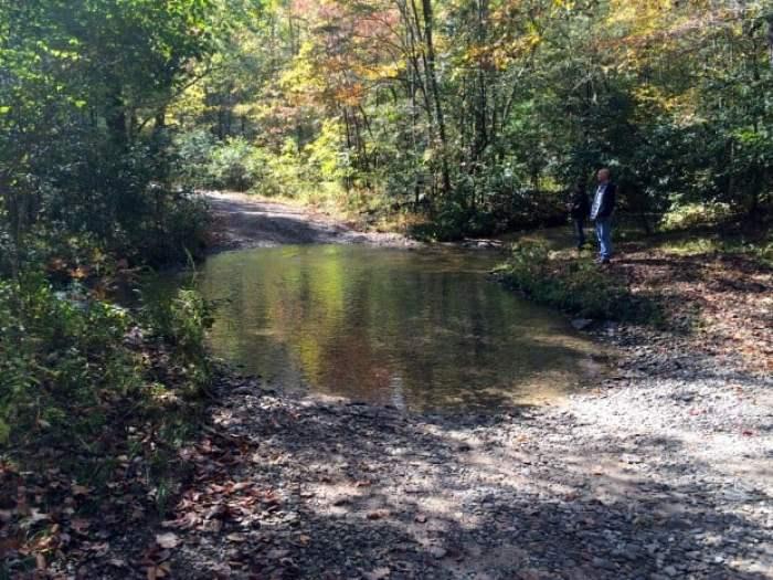 Creek Ford High Shoals Creek Falls