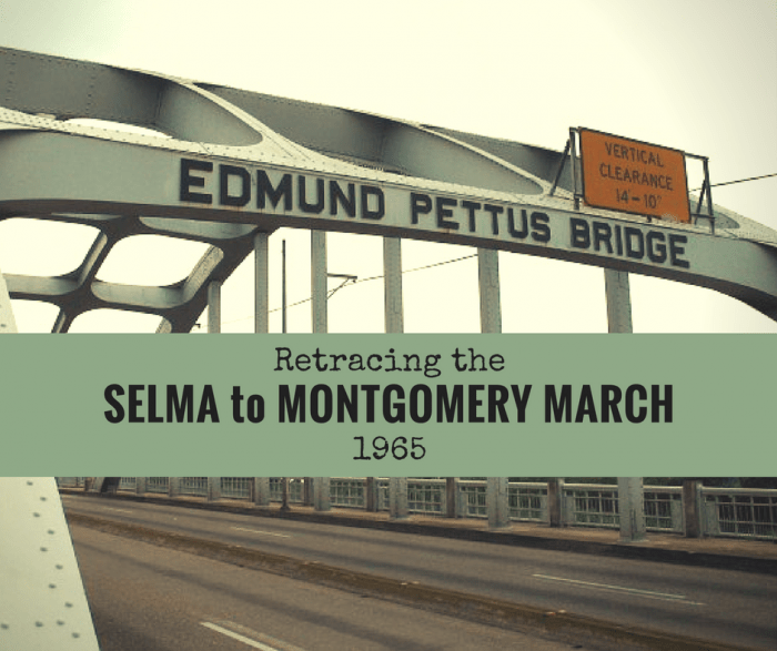 Retracing the Selma to Montgomery March