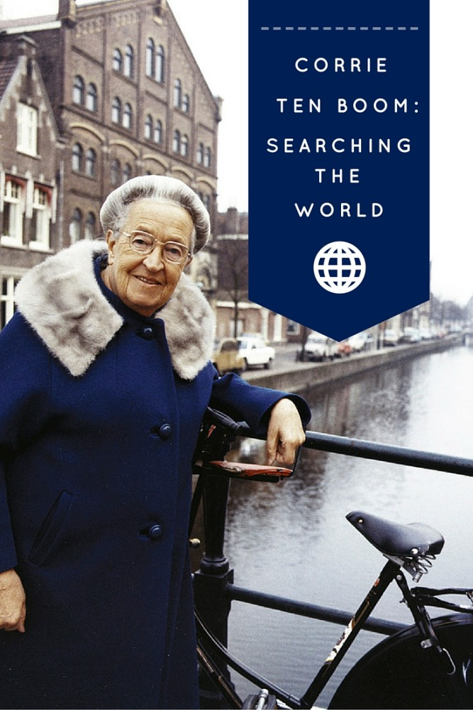 One man's search across 4 continents for Corrie Ten Boom, a watchmaker's daughter who rescued hundreds of Dutch Jews from death during the Holocaust.