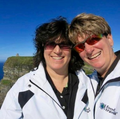 Diana and Sue from The Food Travelist