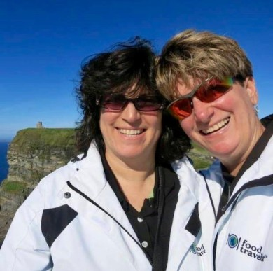 Diana & Sue of The Food Travelist