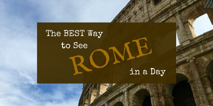 EXPLORE 2 - The Best Way to See Rome in a Day