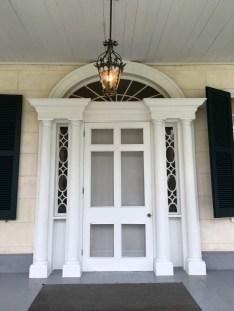 The Linden Bed and Breakfast Natchez Mississippi Front Door