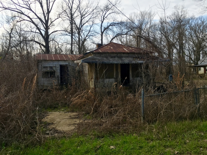 Ghost Town Rodney Mississippi