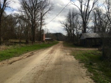 Muddy Bayou Road Ghost Town Rodney Mississippi
