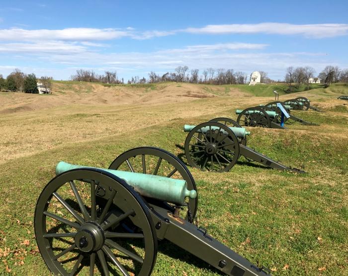 Vicksburg National Military Park Cannons